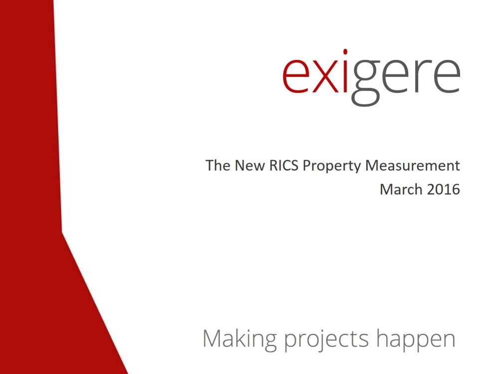 The new RICS International Property Management Standards (IPMS)