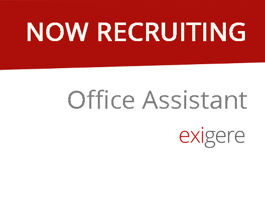 We are hiring – Office Assistant