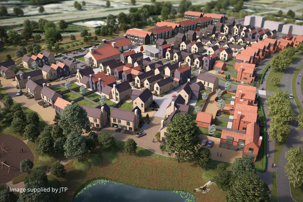 Alconbury, Parcel 4, Urban & Civic, exigere, residential housing