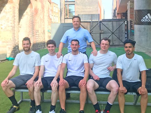 5-a-side raises £3600 for Prostrate uk