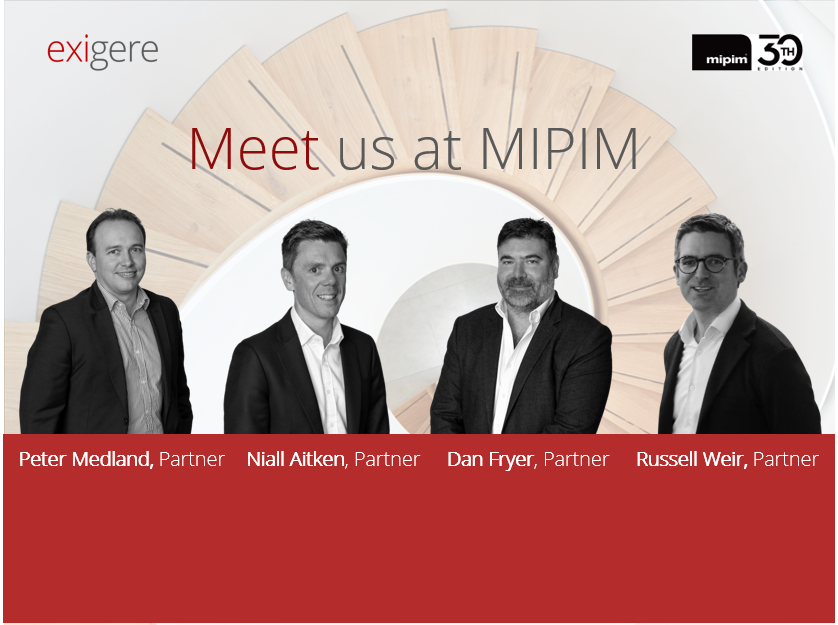 Exigere at MIPIM 2019