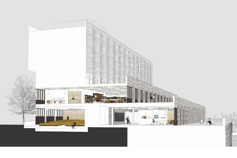 Conceptual image of alterations and improvements made to Rochester campus buildings