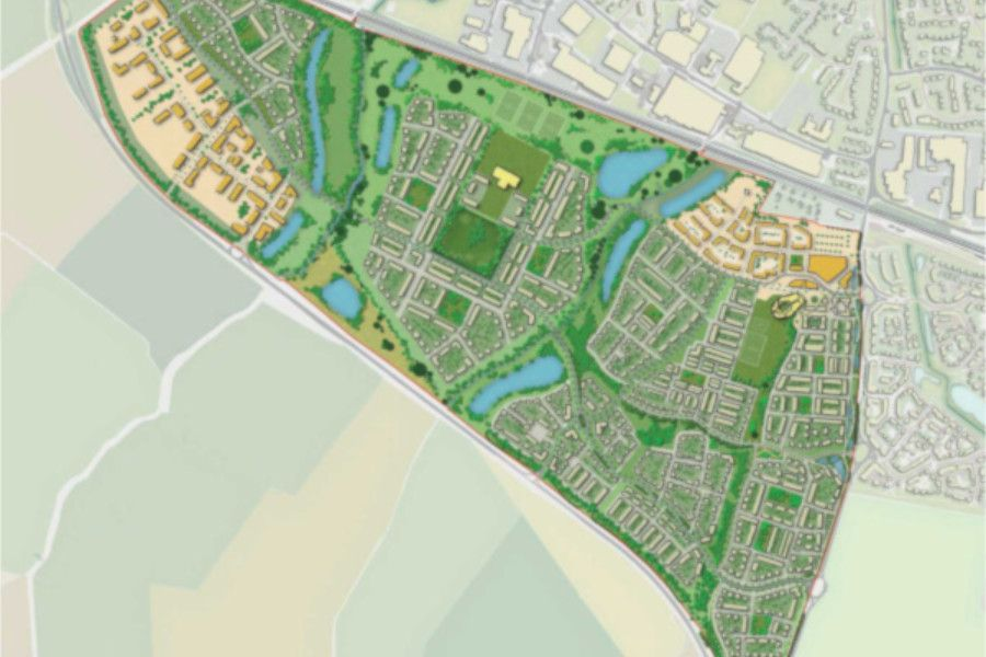 Masterplan for Wintringham Part in St Neots