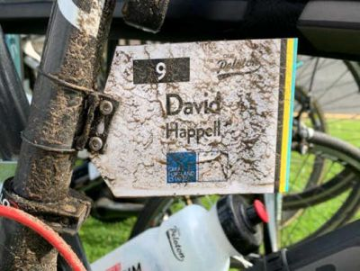 David Happell at Great Portland Estates Bike Ride 2019