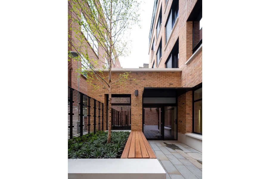 The Girdlers Company exigere London Benjamin Street outside green space external